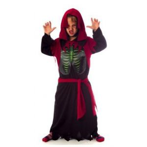 Disfraz esqueleto holografico 8-10 años