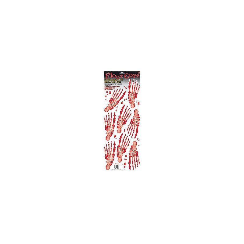 Decoracion pegatinas pies esqueleto - Barullo.com