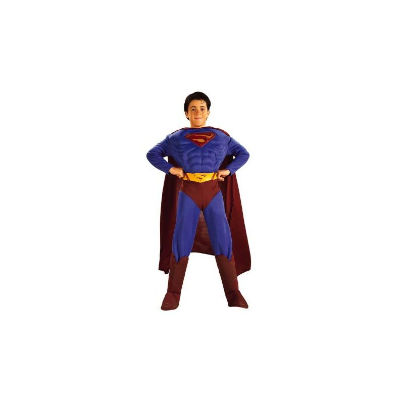 d8d67561a Disfraz superman musculoso niño - Barullo.com