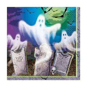Servilletas mostly ghostly (16 unid.)