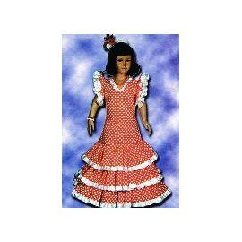 Disfraz flamenca niña