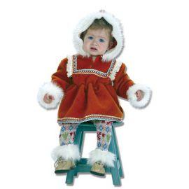 Disfraz bebe esquimal niña