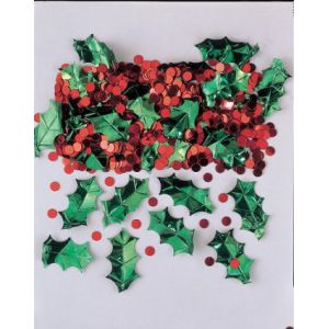 Confetti holly with berries