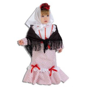 Disfraz bebe chulapa