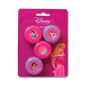 Yo-yo princesas disney (pack 4 uds)
