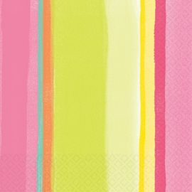 Servilletas sunny stripe (16 uds)