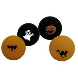 Bola loca halloween (pack 4 unid)
