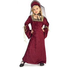 Disfraz lady medieval