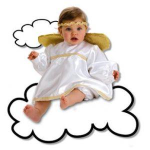Disfraz bebe angel