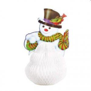 Muñeco de nieve 38 cm