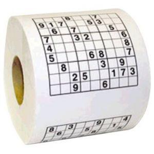 Papel w.c. sudoku