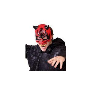 Mascara diablo con cuernos