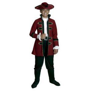 Disfraz rey pirata infantil