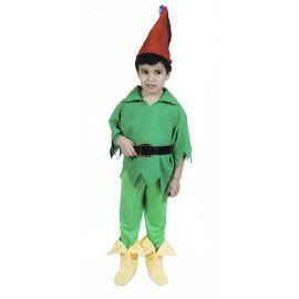 Disfraz duendecillo verde 3-4 años