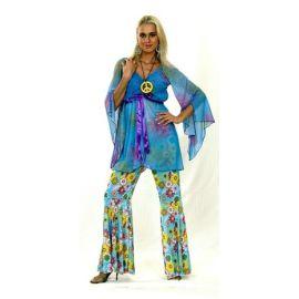 Disfraz hippie mujer bt