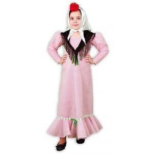 Disfraz chulapa sencillo con mantón