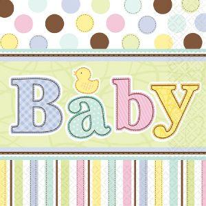 Servilletas baby shower (36 uds)