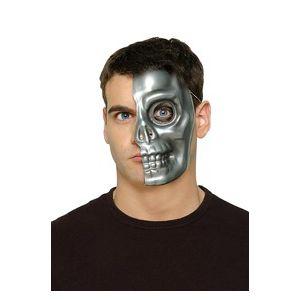 Mascara media cara cyborg