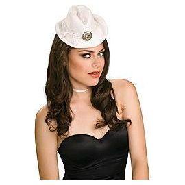 Mini sombrero blanco