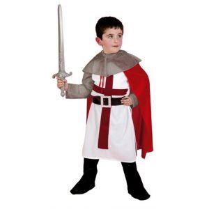 Disfraz caballero medieval cruzado niño