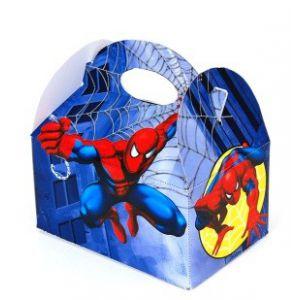 Cajita spiderman