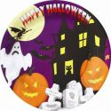 Platos 23 cm halloween colection(10 uds)