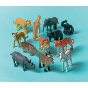 Animales jungla (12 unid)