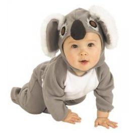 disfraz bebe koala pelele