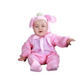 Disfraz bebe perrito rosa