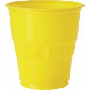 Vaso grande amarillo (12 unid)