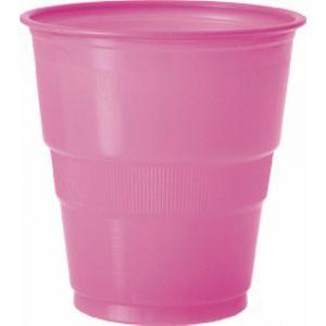 Vaso grande fucsia (12 unid.)