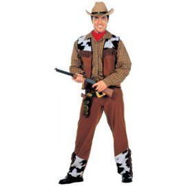 Disfraz vaquero adulto