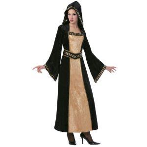 Disfraz doncella gótica adulto