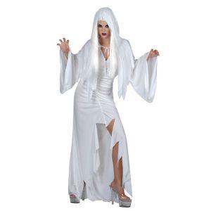 Disfraz espiritu blanco mujer