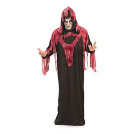 Disfraz fantasma del infierno