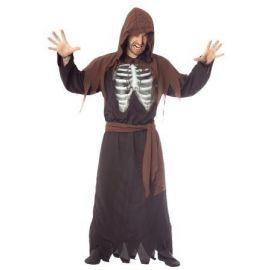 Disfraz esqueleto holografico adulto