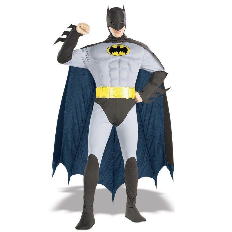 disfraz batman classic musculo adulto