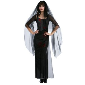 Disfraz viuda siniestra