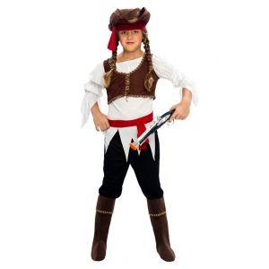 Disfraz pirata niña bt