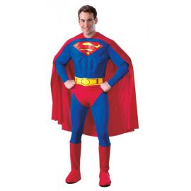 Disfraz Superman musculoso adulto