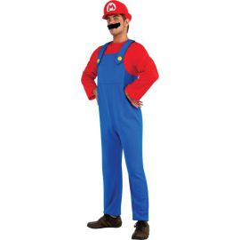 Disfraz super mario bros adulto