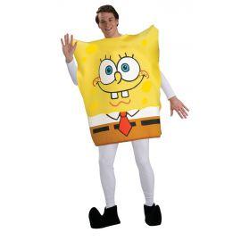 Disfraz bob esponja adulto