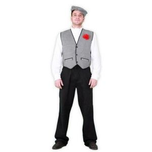 Disfraz chulapo adulto sencillo (set)