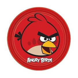 Platos angry birds (8 unid)