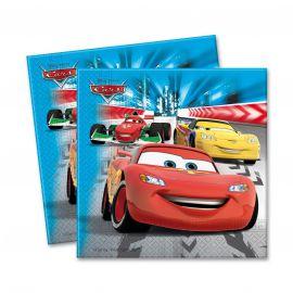 Servilletas cars (20 unid)