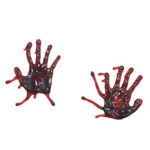 Manos gel sangre (2 uds)