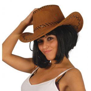 Sombrero vaquero pespuntes