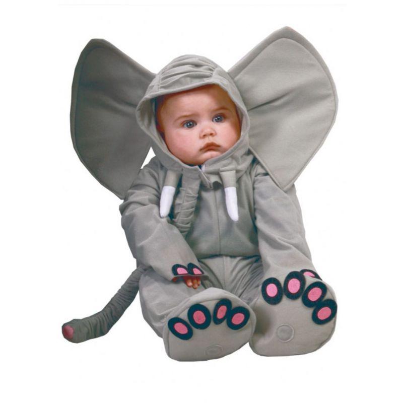 Disfraz bebe elefante - Disfraces de halloween bebes ...