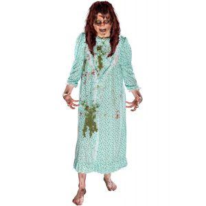 Disfraz niña del exorcita con peluca