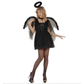 Disfraz angel de la noche adulto